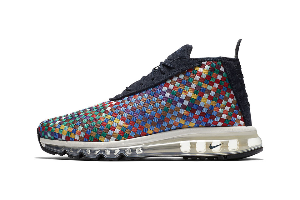 detailed look dd8ce df50b Nike s Air Max Woven Boot Is Back Hosting a Wave of Color Blocks