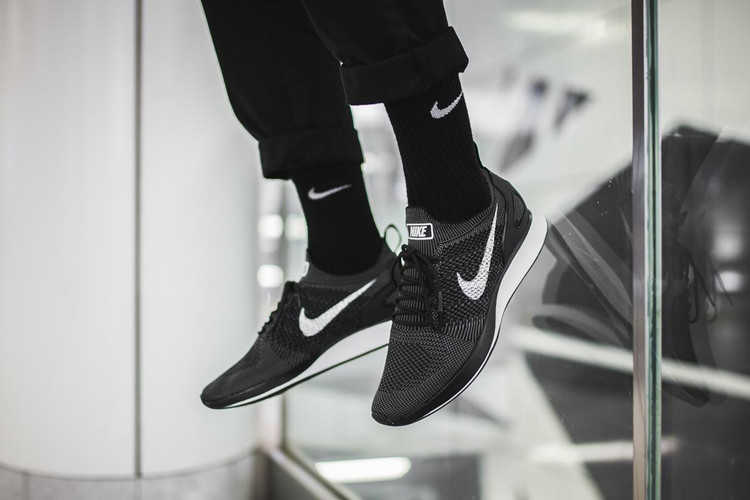 3b1c9cdeed0e Nike Releases a Black   White Colorway of the Air Zoom Mariah Flyknit Racer
