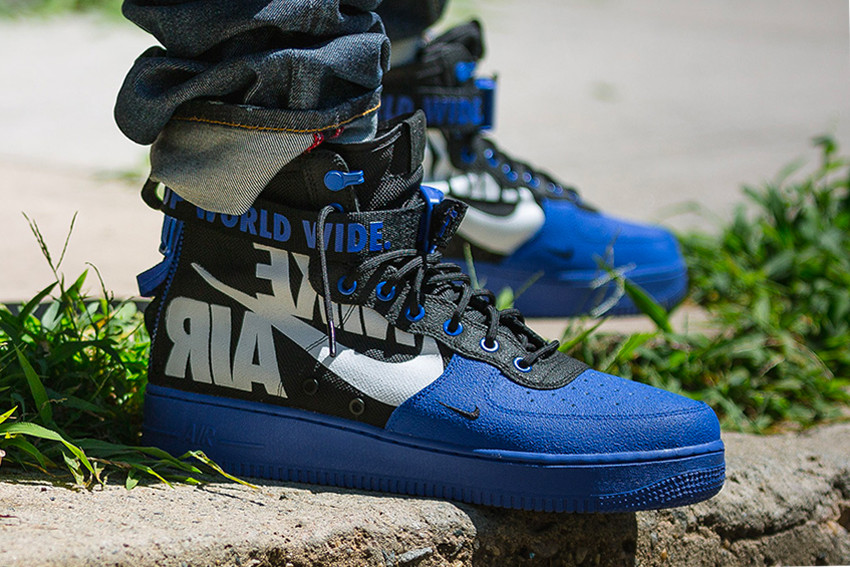 2894dbf1c928 Nike Creates Exclusive SF-AF1 Mids for Baltimore Bike Crew