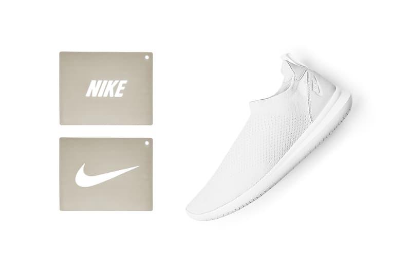 Nike Gakou Flyknit Stencil Shoe Black White Sneakers Shoes Footwear Stencils 2017 August 24 Release Date Info