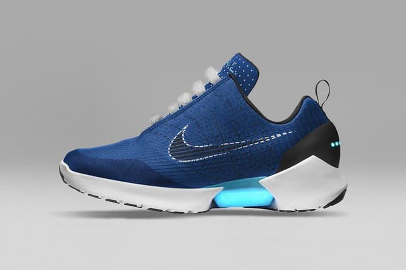 Nike HyperAdapt 1 0 Sport Royal White Colorway Sneakers Shoes Footwear 2017 September Release Date Info