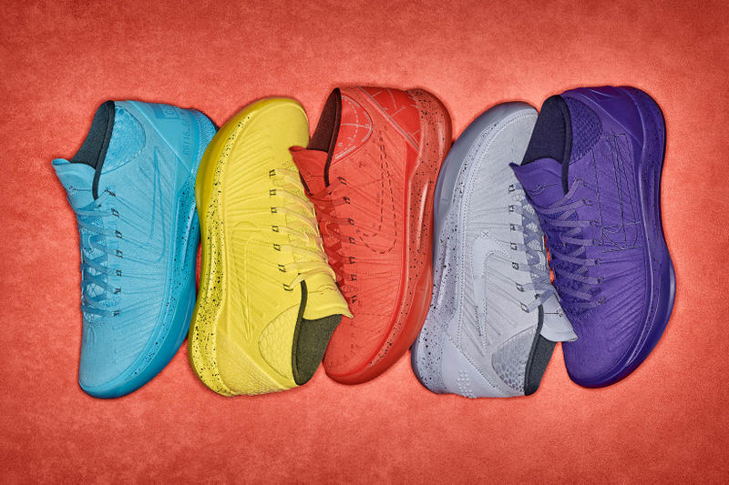 Nike Kobe AD Mamba Mentality Pack Optimism Fearless Detached Passion  Honesty Blue Yellow Red Grey Purple c6dc9d286a18