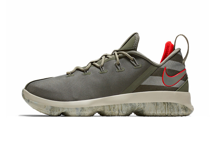 7de3edec9293b Nike s LeBron 14 Low Gets Hit With a Military-Themed Makeover