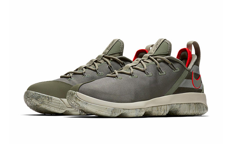 Nike LeBron 14 Low Military-Themed