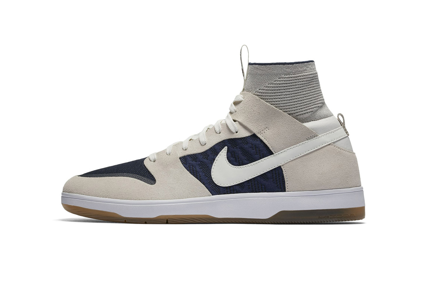 Nike SB Dunk High Elite in Off-White