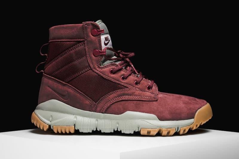 Nike SFB 6 Boot Dark Team Red Colorway