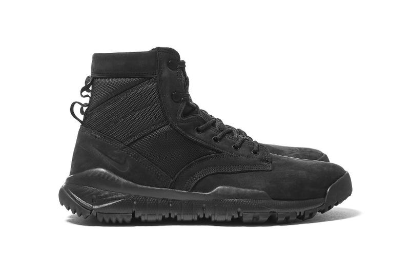 Nike SFB 6 NSW Leather Triple Black 2017 Release Special Field Boot  Sneakers Shoes Footwear e43203076