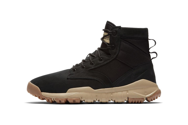 brand new 54679 f13bb Nike SFB 6 Inch NSW Leather Black Mushroom Gum Sole Boot Sneakers Shoes  Footwear Release Info