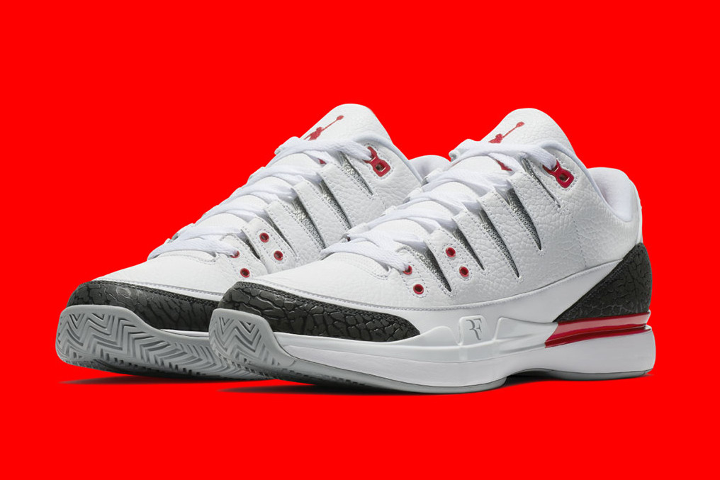 "Nike Zoom Vapor Tour AJ3 ""Fire Red"