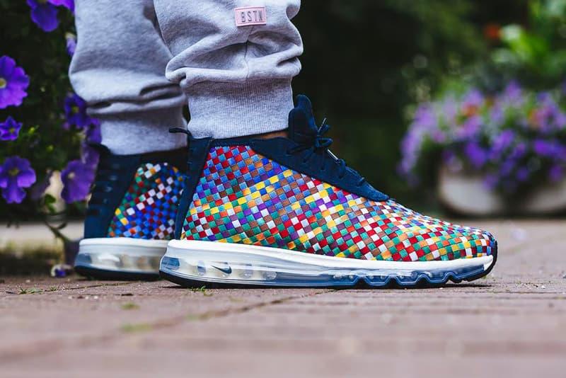 NikeLab Air Max Woven Boot Multicolor Footwear Sneakers Shoes Nike Swoosh