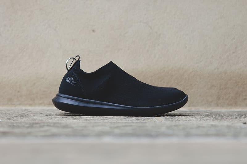 NikeLab Gakou Flyknit Black White