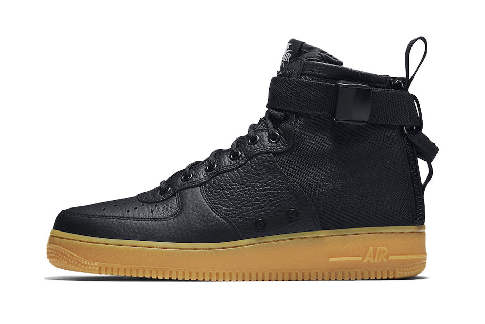 679c56c87760bc Nike s SF-AF1 Model Will Soon Drop in a Black   Gum Colorway