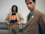 Noah Returns With a Lookbook for Its '80s Influenced 2017 Fall/Winter Collection