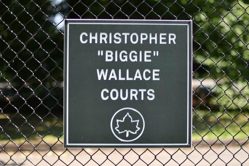 Biggie Smalls Bedstuy Brooklyn Basketball Court