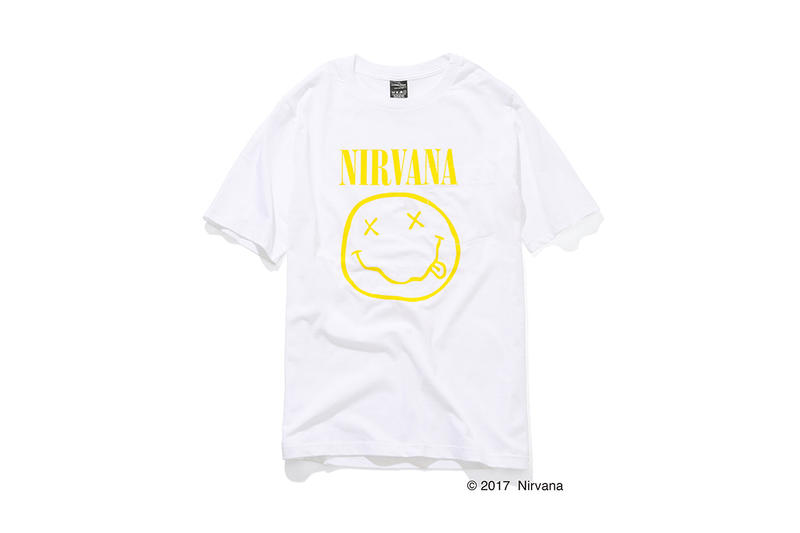 Number (N)ine x Nirvana Pocket T-Shirts