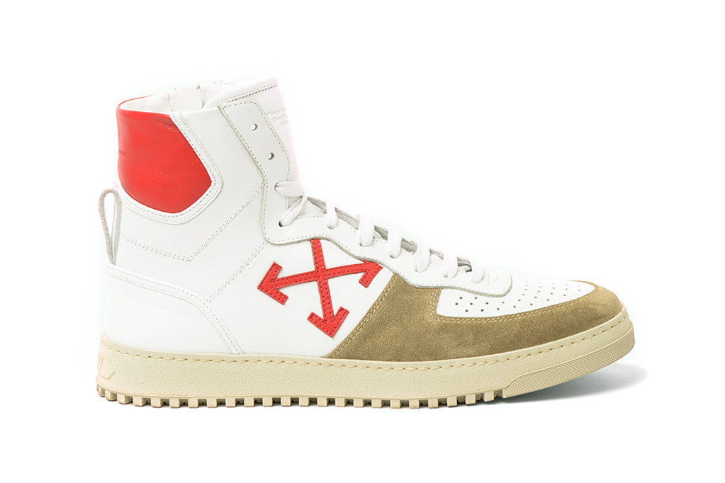 Off-White 70s Sneaker High in Red/White