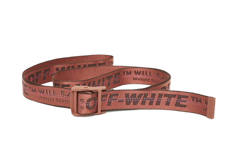 The New Colorways Off-White™'s Industrial Belts Have Just Been Stocked Online