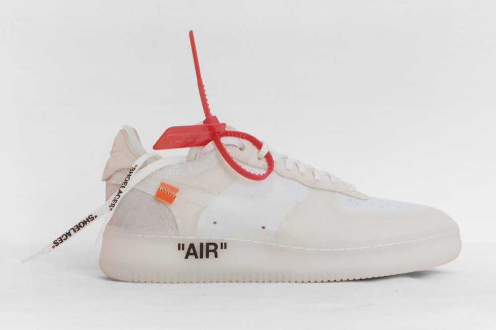 Off-White Virgil Abloh x Nike Air Force 1