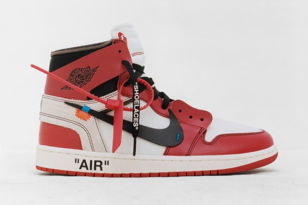 Off-White Virgil Abloh x Nike Air Jordan 1