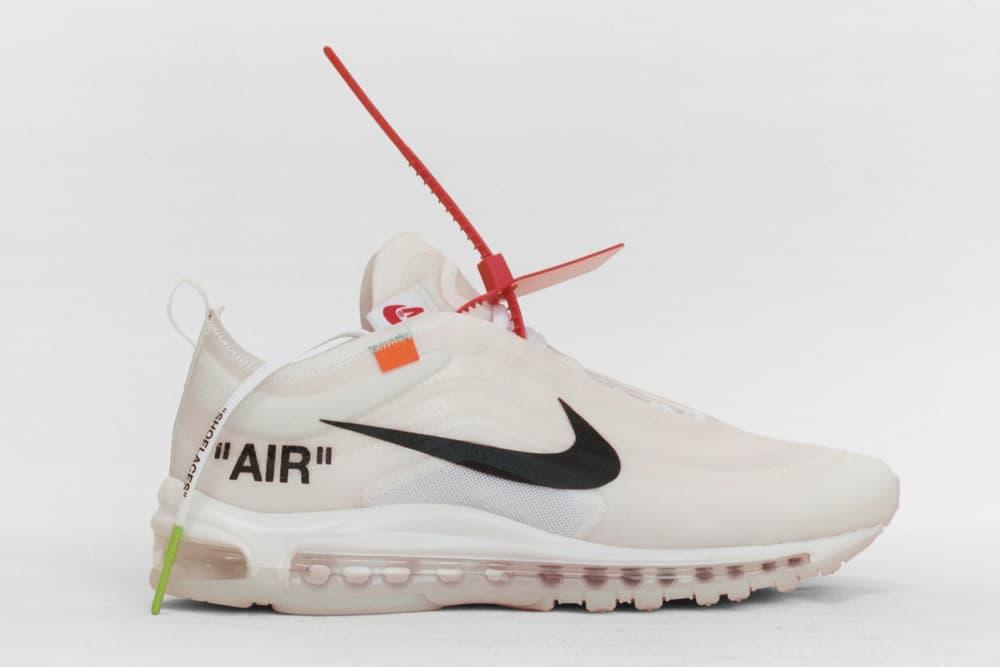 Off-White Virgil Abloh x Nike Air Max 97