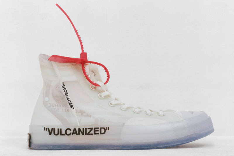 Off-White Virgil Abloh x Converse Chuck Taylor