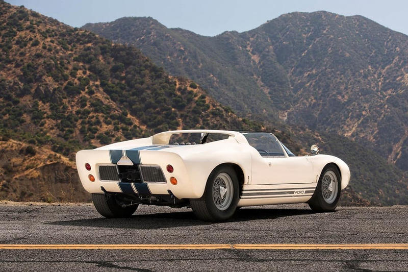 Original Roofless Ford GT40 Roadster Prototype Auction
