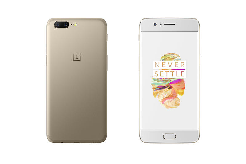Oneplus 5 Soft Gold Edition Slate Grey