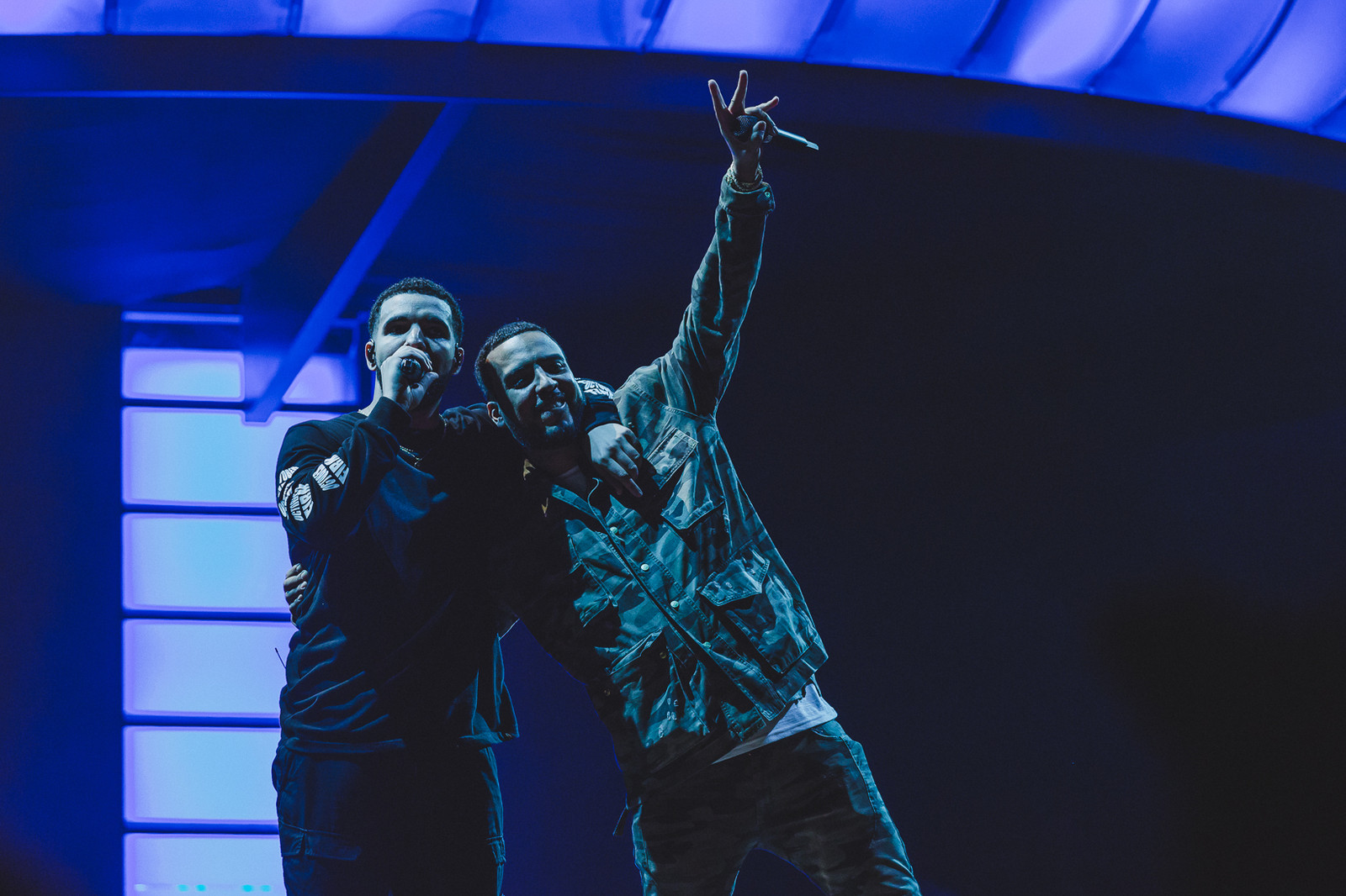 OVO Fest 2017 Review Drake Toronto Nelly Travis Scott the weeknd majid jordan playboi carti French Montana cardi b octobers very own concert festival stage performance hip hop rap music canada Budweiser Stage PARTYNEXTDOOR dvsn roy woods CN Tower Rae Sremmurd migos quavo Baka Not Nice Tory Lanez pictures images