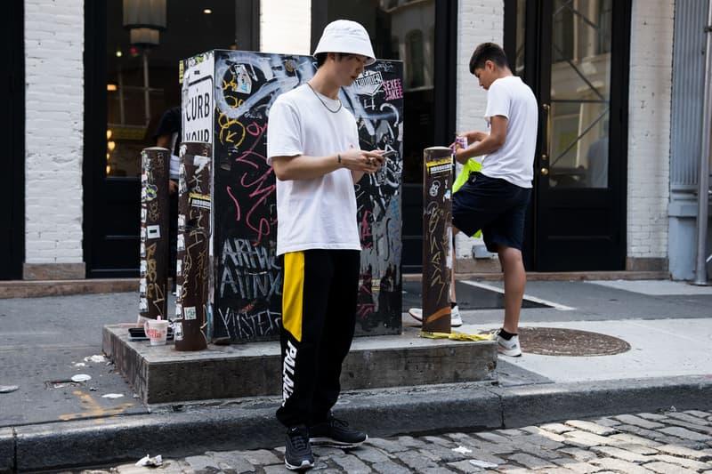 Palace 2017 Fall Drop New York City NYC Streetsnaps Highlights