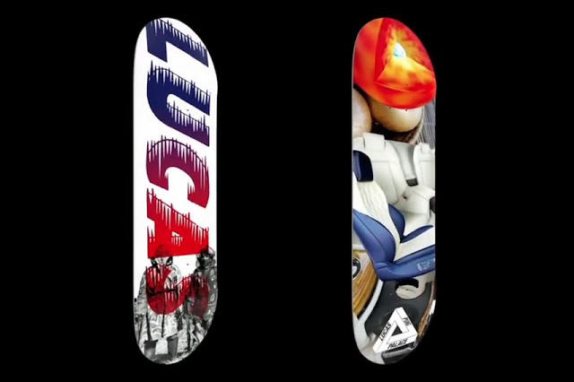"""208809db0064 Palace Introduces Lucas Puig to Its Skate Team With New Deck. """""""