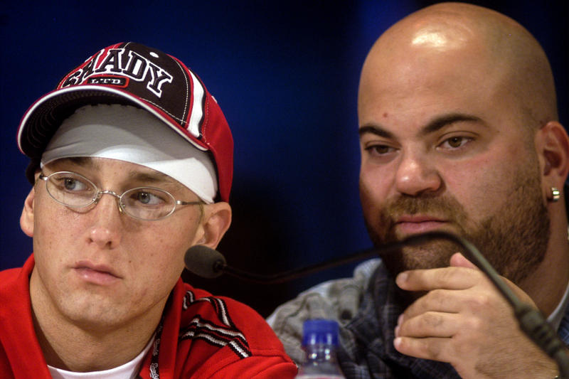 Eminem Manager Paul Rosenberg Def Jam CEO Announcement complex shady records documentary studio