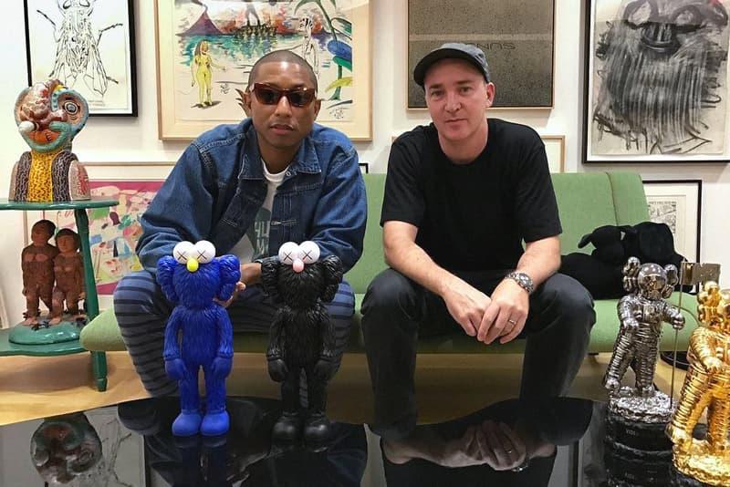 Pharrell Williams KAWS BFF Companions