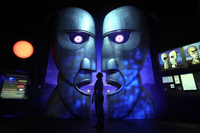 Pink Floyd Their Mortal Remains V A Exhibition Most Visited 2017 October 15