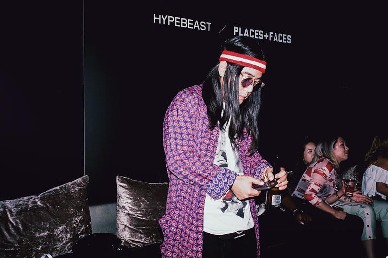 Places+Faces HBX Pop Up Shop After Party Hong Kong HYPEBEAST