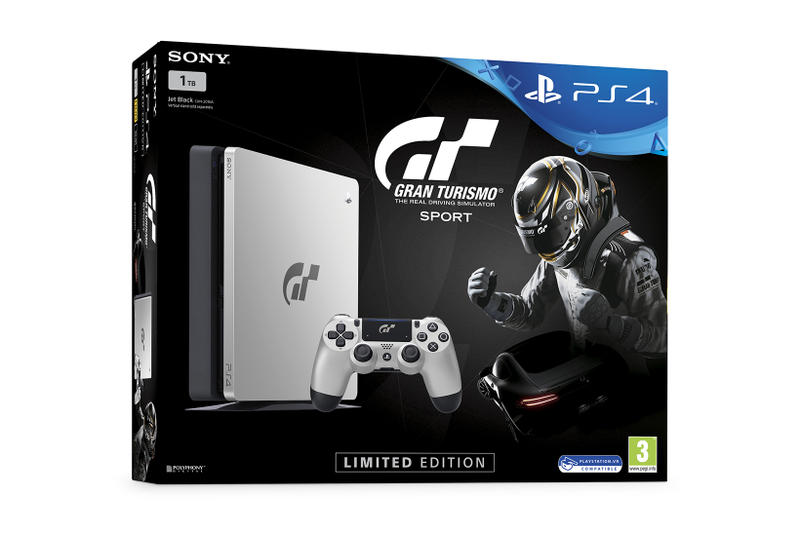Gran Turismo Sport PlayStation 4 Limited Edition Bundle Sony Console Black Silver 2017 Release Date Info
