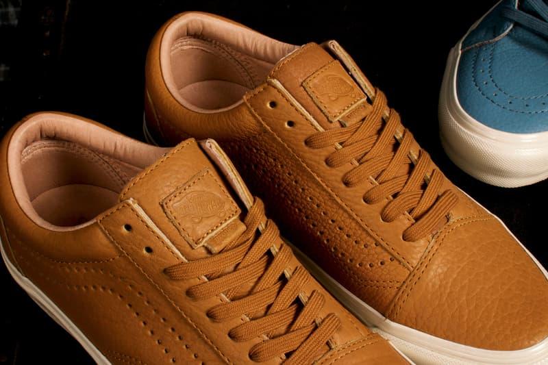 Proper Vault by Vans Tatanka Collection Horween Leather Slip on LX Old Skool LX Sk8 hi LX