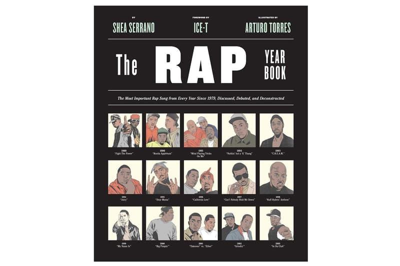 Shea Serrano Questlove Black Thought AMC Rap Yearbook