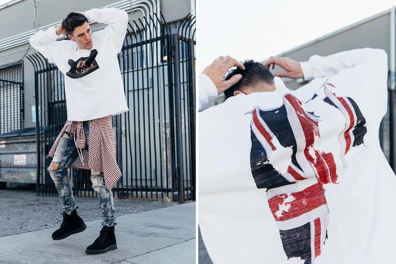Represent Autumn Winter 2017 Collection Lookbook British