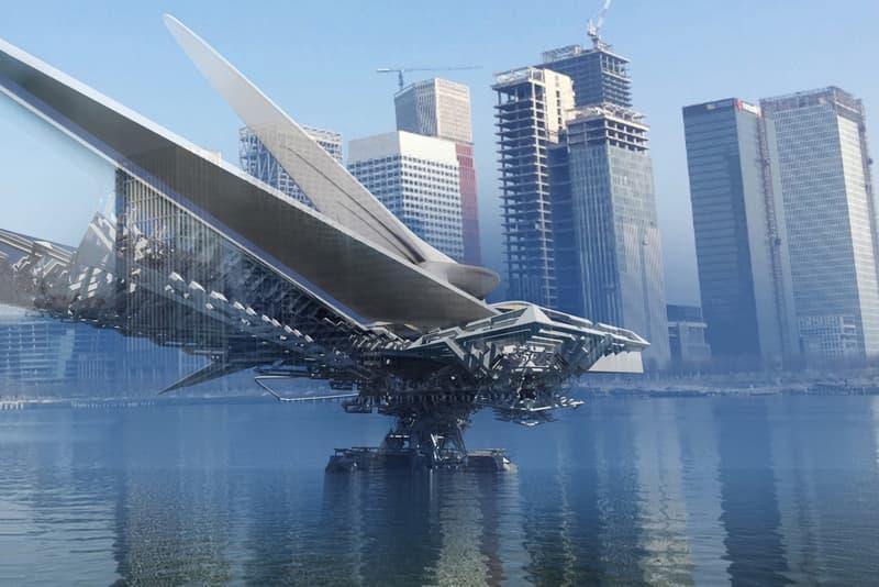 Revolving Sail Bridge Dr. Margot Krasojević