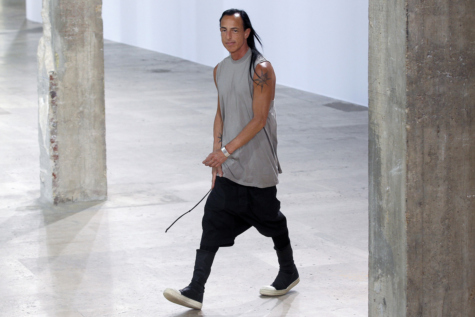 Exploring Rick Owens' Fit Guide Over