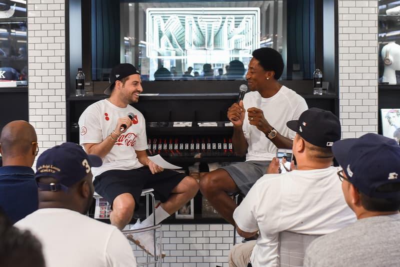 Ronnie Fieg KITH Scottie Pippen Nike Collaboration Tease