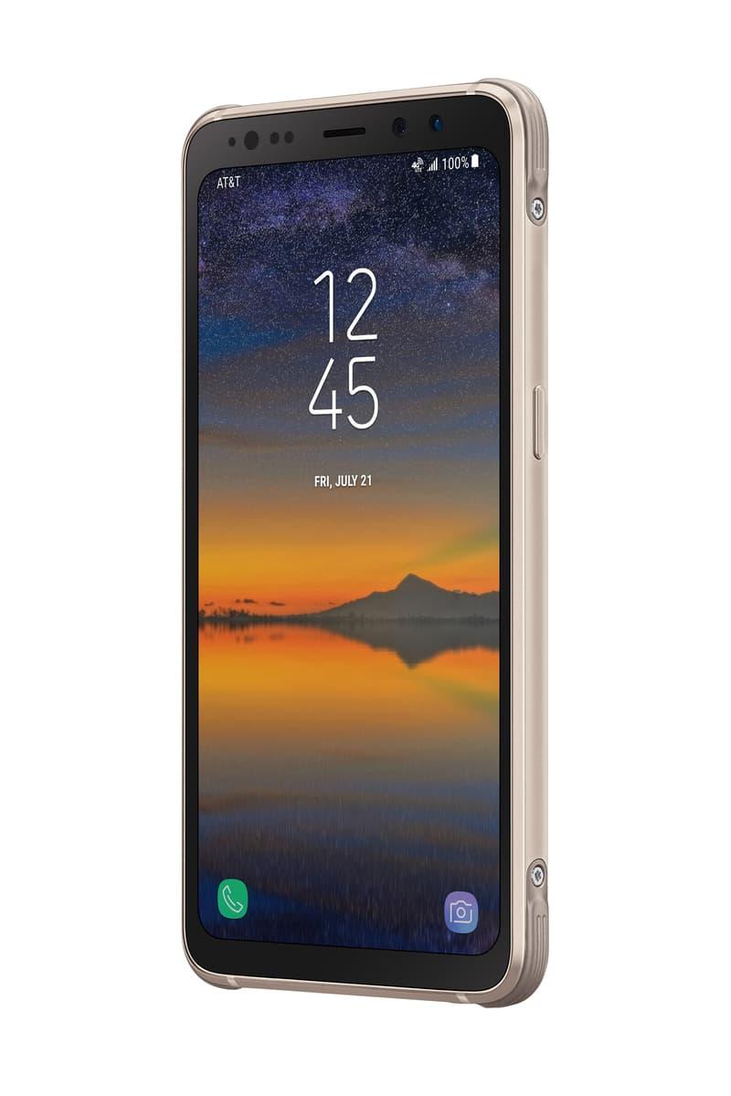 Samsung Galaxy S8 Active Gold Meteor Grey