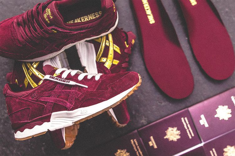 f3cf484baeb53b Sneakerness   ASICS s Collaborative GEL-Lyte V Is Inspired by a European  Passport