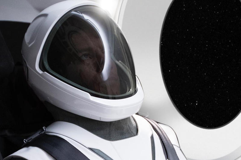 SpaceX New Space Suit Elon Musk Teaser Instagram