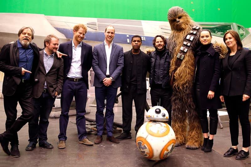 Star Wars The Last Jedi Cameo Tom Hardy Prince William Harry John Boyega