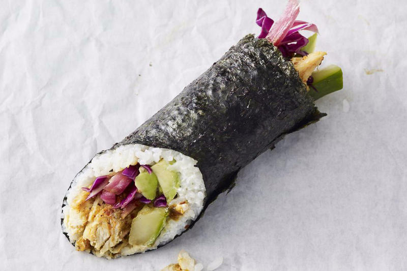Starbucks Sushi Burritos Maki Roll Chicken Seattle Chicago cafe coffee
