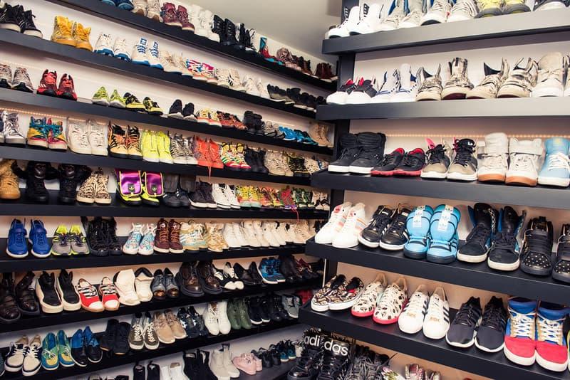 Steve Aoki Closet Coveteur adidas Originals Jeremy Scott Sneakers Shoes Footwear