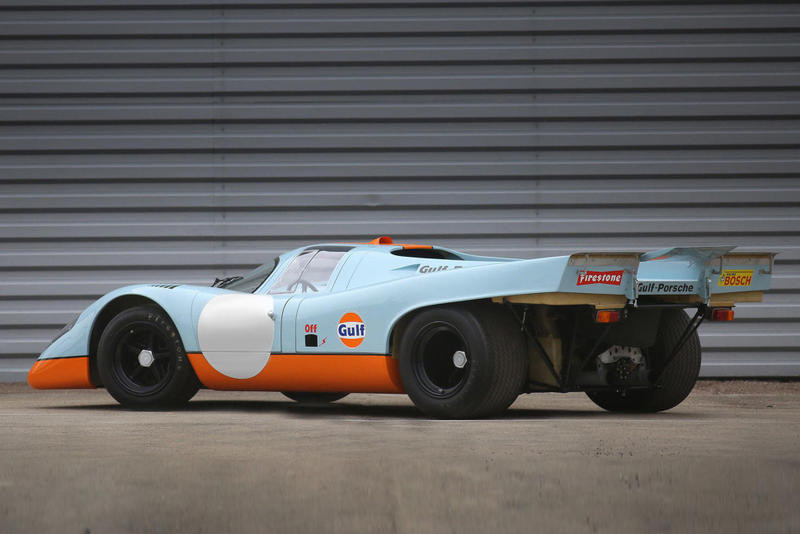 Steve McQueen 917 Auction Most Expensive Porsche Le Mans