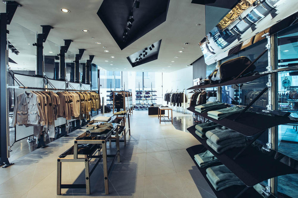 Stone Island Los Angeles Flagship Store