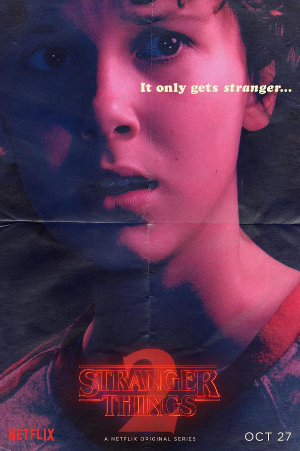 Stranger Things Season 2 Posters